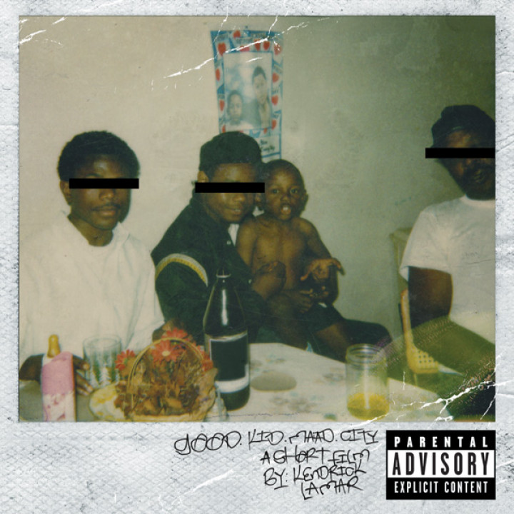 Albumcover good kid, m.A.A.d city