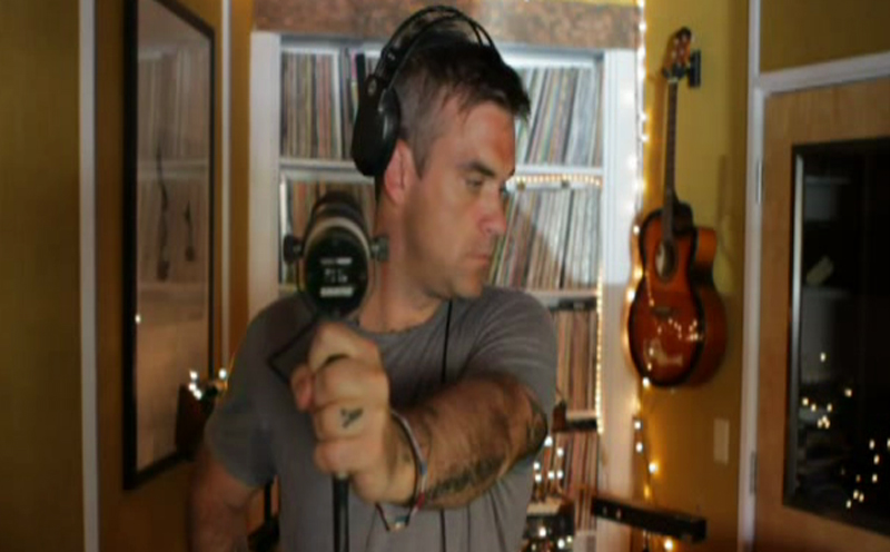 Robbie Williams, Take The Crown - Making Of (Teil 3)