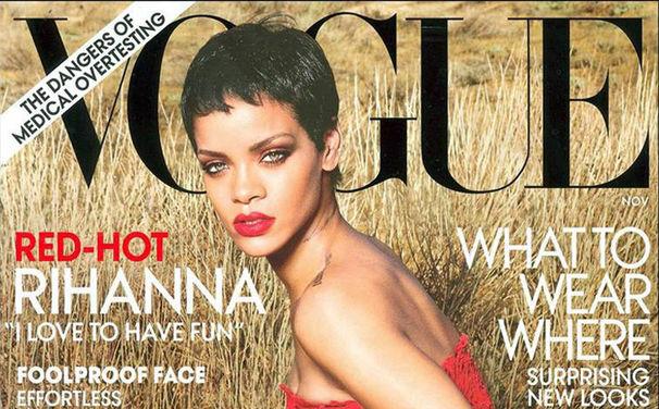 Rihanna, Große Rihanna Coverstory in der US-Ausgabe der VOGUE