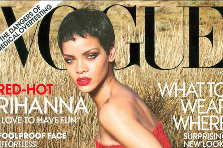 Rihanna US Vogue Cover November