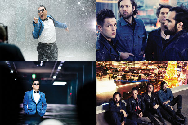 The Killers, The Killers und PSY treten am 11.11. bei den MTV EMAs auf