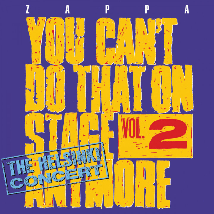 You Can't Do That On Stage Anymore,Vol. 2: Zappa,Frank