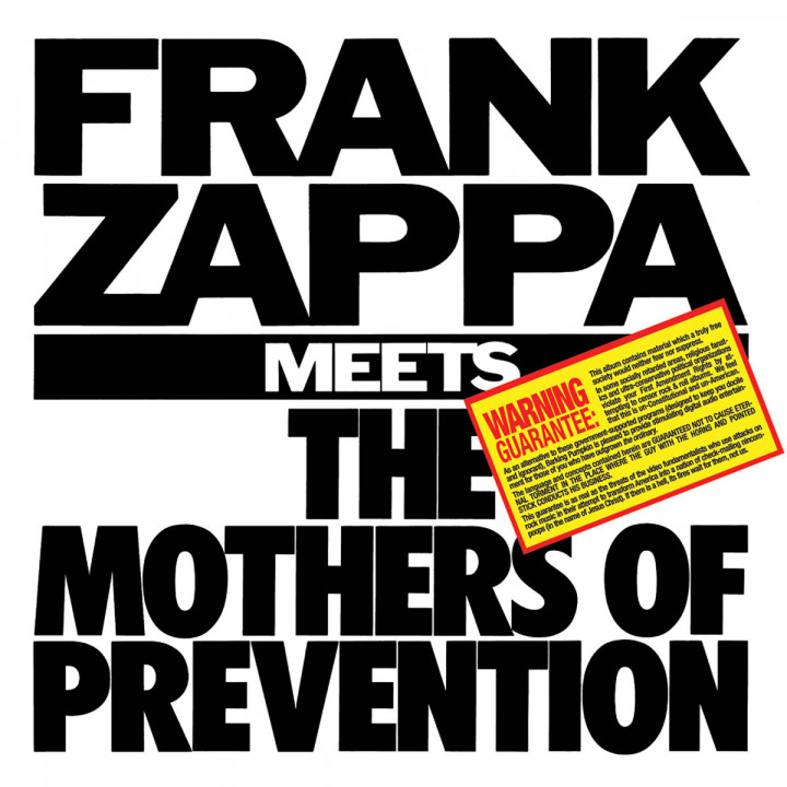 Frank Zappa Meets The Mothers Of Prevention: Zappa,Frank