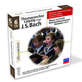 eloquence, Thomanerchor Leipzig singt J. S. Bach, 00028947649571