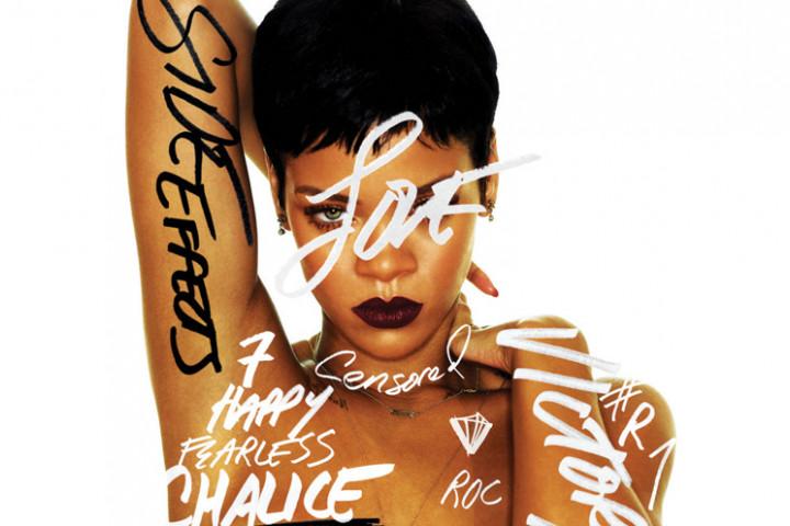 Rihanna Albumcover Motiv 2012