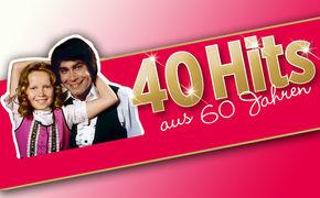 Various Artists, 60 Jahre Funk Uhr:  40 Hits aus 6 Dekaden Deutschland auf 2 CDs