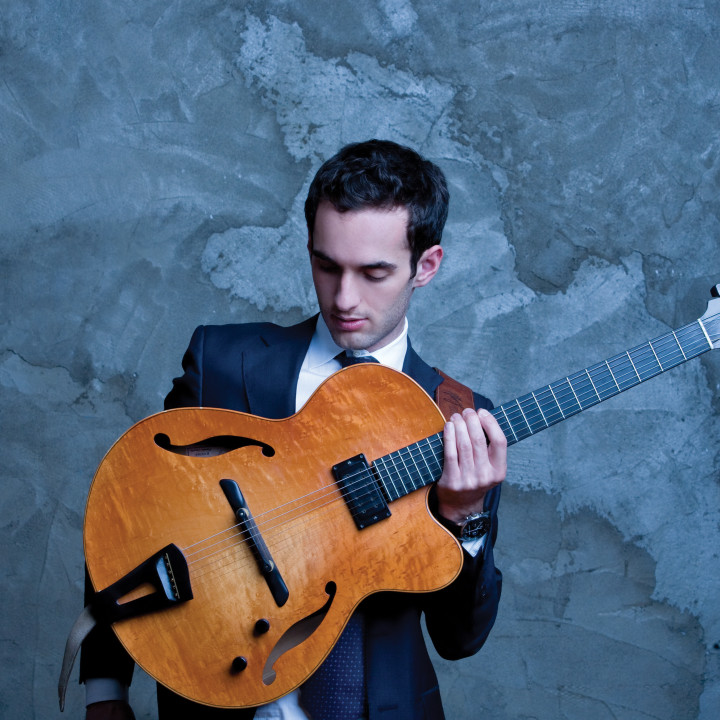 "Julian Lage — Photoshooting zu ""Sounding Point"""