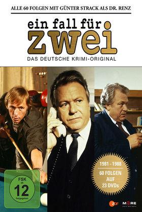 Ein Fall für Zwei, Ein Fall für zwei - Günter Strack Box (23 DVD), 04032989603176