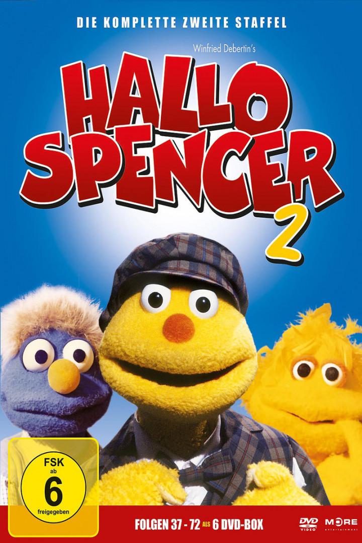 Hallo Spencer - d. komplette 2. Staffel (Ep.37-72): Hallo Spencer