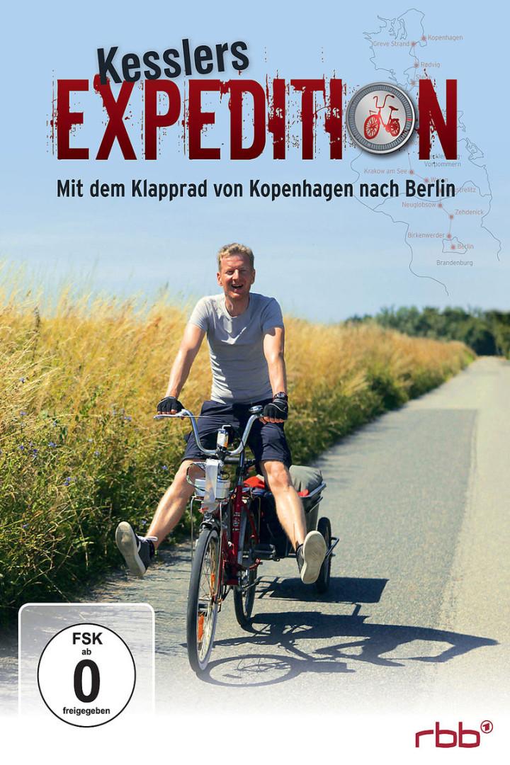 Mit dem Klapprad von Kopenhagen nach Berlin: Kesslers Expedition