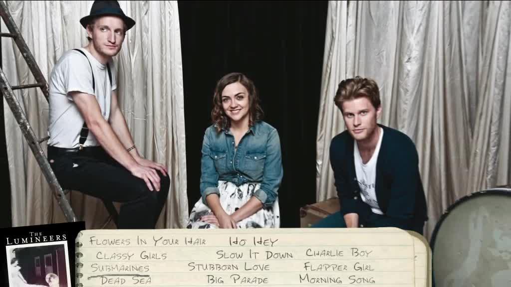 The Lumineers, Album Release Video 2012