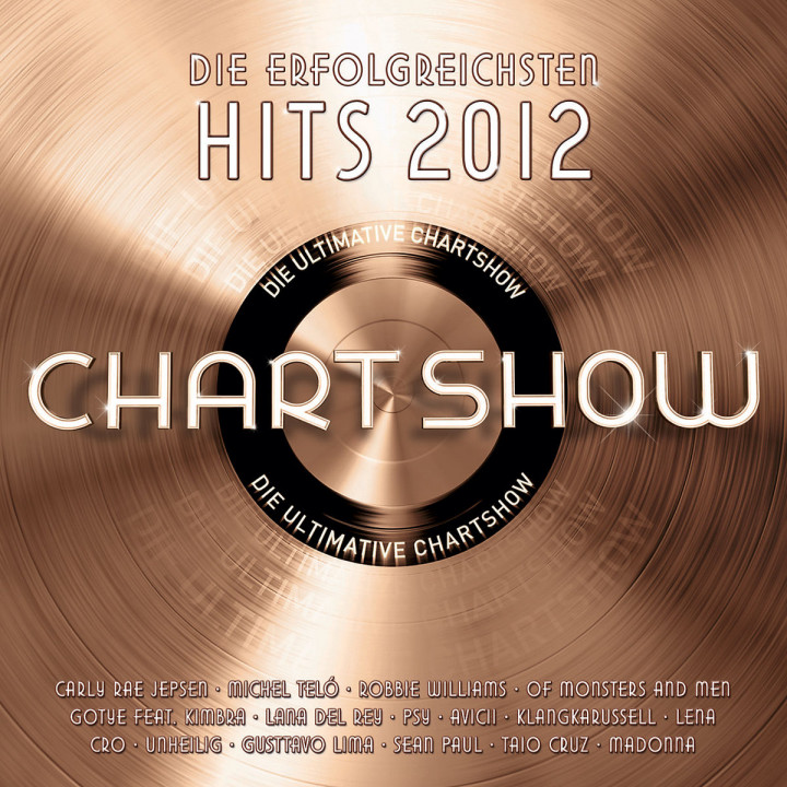 Die ultimative Chartshow - Hits 2012: Various Artists