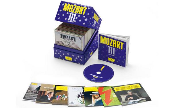 Wolfgang Amadeus Mozart, 111 Meisterwerke von Mozart