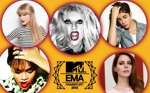 Various Artists, Diese Stars wurden für einen MTV European Music Award nominiert