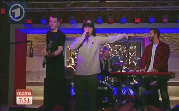 Lukas Graham, ARD Morgenmagazin Live-Auftritt 2012: Votet für Lukas Graham