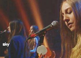 HAIM, Forever (live) bei der Harald Schmidt Show