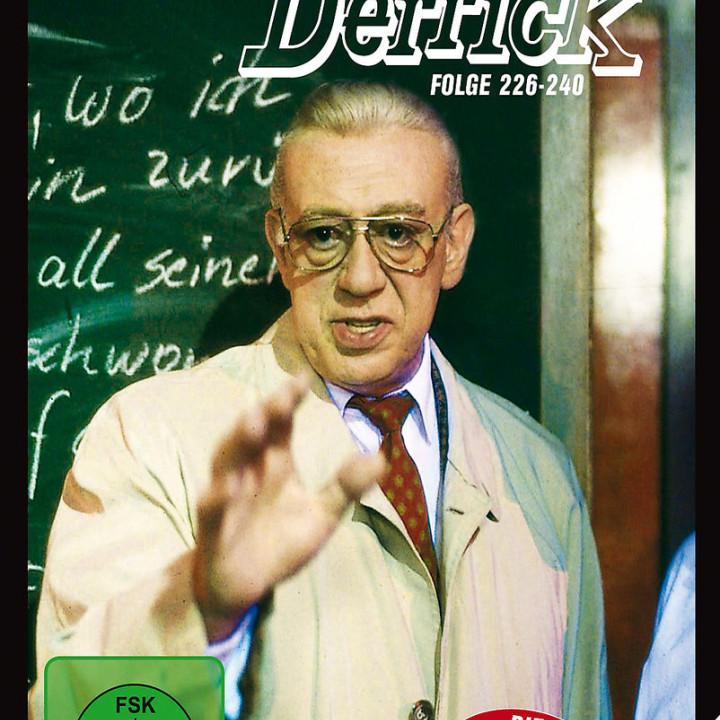 Derrick Collector's Box 16 (5 DVD / Ep. 226-240): Derrick