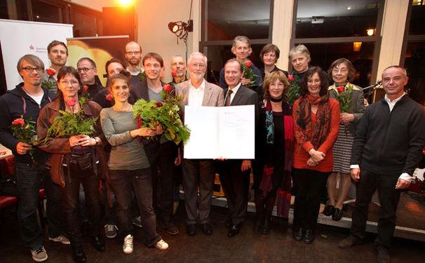 Jugend-Kulturpreis 2012 für die Offene Jazz Haus Schule Köln