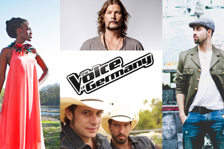 The Voice of Germany, Ivy Quainoo, Rea Garvey, The BossHoss, Mic Donet