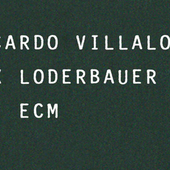 Re: ECM von Villalobos & Loderbauer