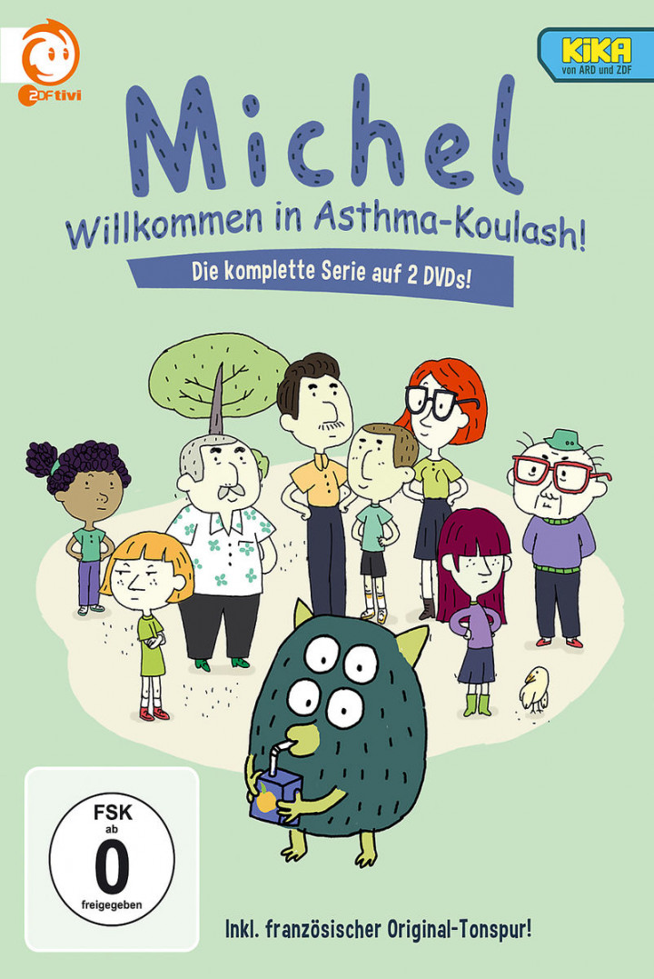 Michel - die komplette Serie (2 DVD): Michel - Willkommen in Asthma-Koulash!