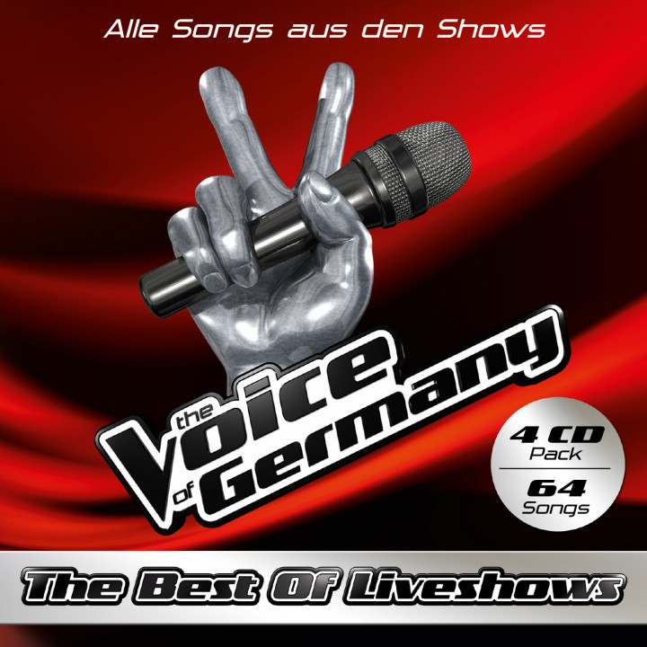 The Voice of Germany Cover 4CDs