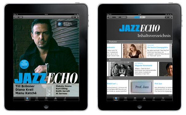 Till Brönner, Neue iPad-Ausgabe des JazzEcho: Das Beste des Jazz zum Jahresabschluss