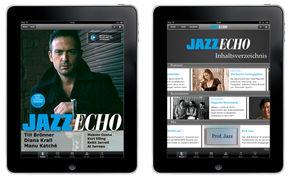 Kurt Elling, Neue iPad-Ausgabe des JazzEcho: Das Beste des Jazz zum Jahresabschluss