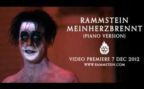 Rammstein, 7. Dezember: Single-Veröffentlichung und Videopremiere Mein Herz brennt