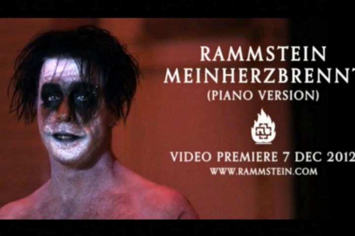 Rammstein Mein Herz Brennt Videopremiere