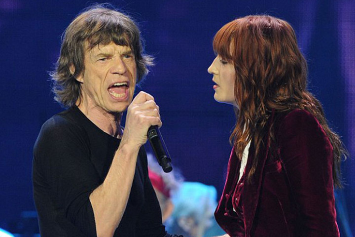Florence + the Machine und The Rolling Stones