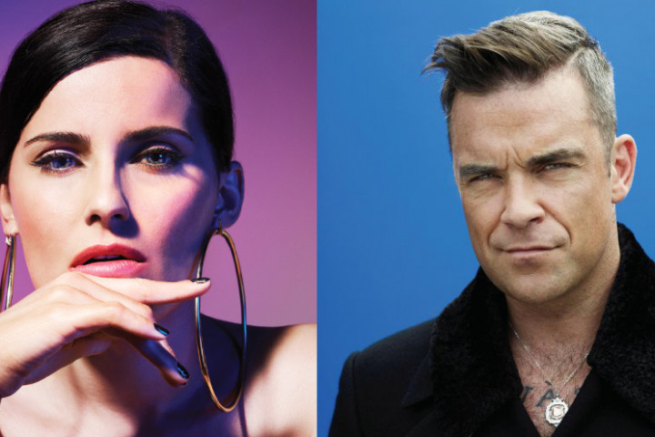 Robbie Williams Nelly Furtado The Voice-Gewinnspiel
