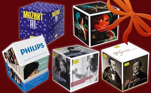 Klassik zu Weihnachten, KlassikAkzente Geschenktipps