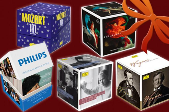 KlassikAkzente Geschenktipps: Die Klassik-Boxen 2012