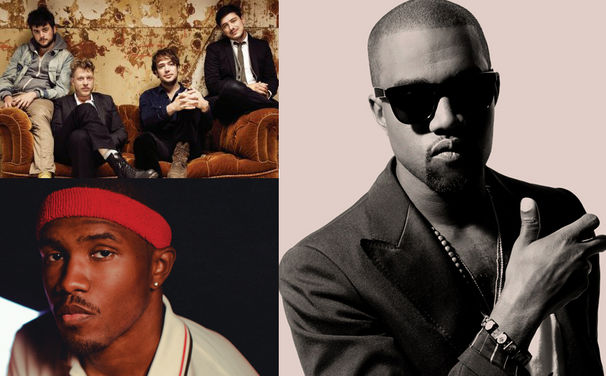 Kanye West, Größte Grammy-Chancen für Frank Ocean, Kanye West & Mumford & Sons