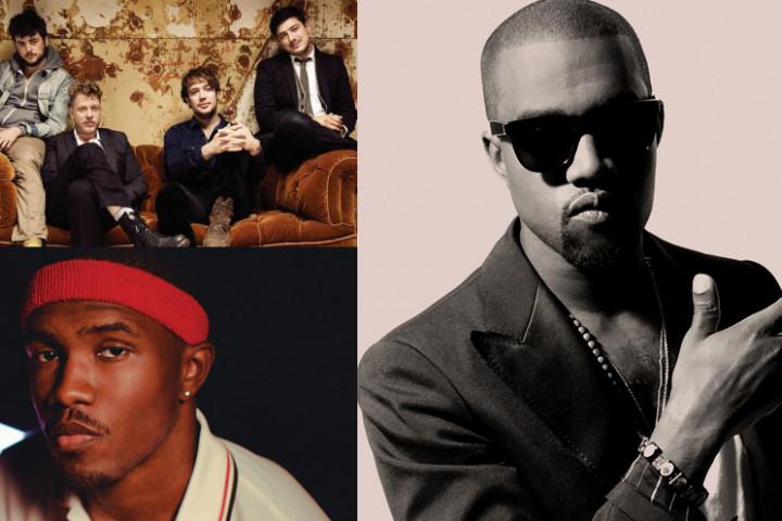 Grammy Nominierten Kanye West, Frank Ocean