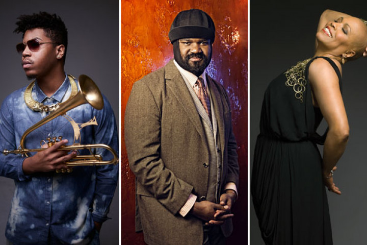 Christian Scott,  Gregory Porter, Dee Dee Bridgewater
