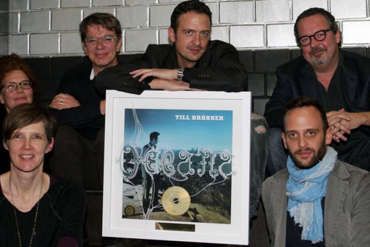 Till Brönner Gold-Verleihung für Oceana im Postbahnhof