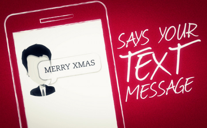 Merry Xmas (Says Your Text Message)