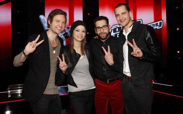 The Voice Of Germany, Isabell, James, Michael und Nick stürmen ins Finale und in die Charts