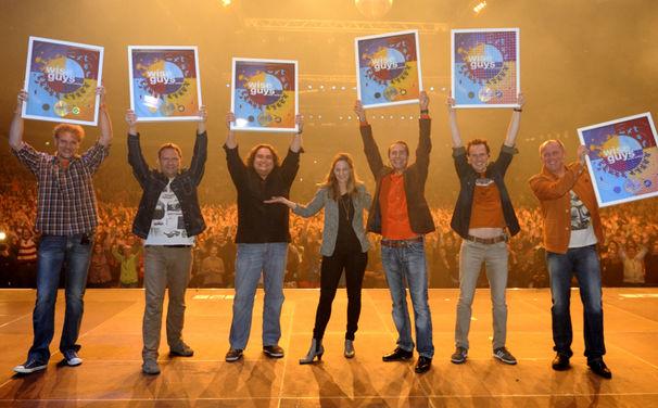 Wise Guys, Die Wise Guys haben goldene Schallplatte für ihr Album Zwei Welten erhalten