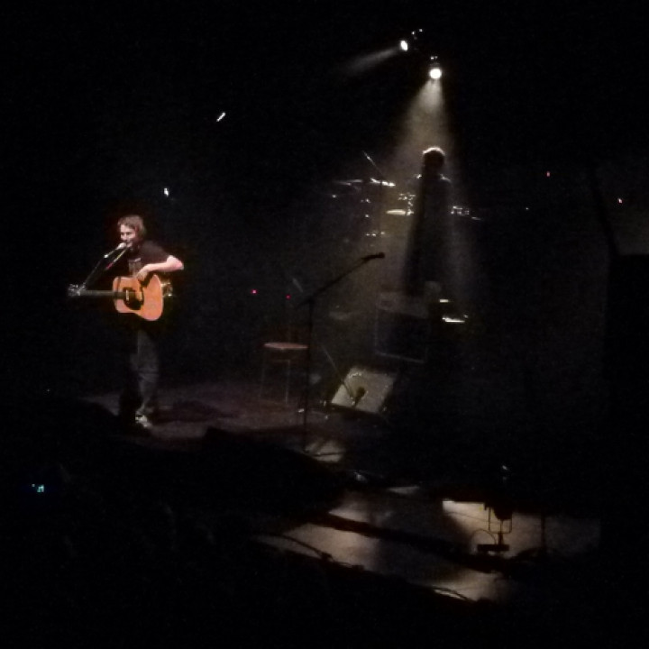 Ben Howard, Berlin-Konzert, 13.12.2012, Tempodrom, Live
