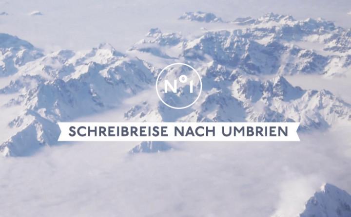 """Bosse Videotagebuch Episode 1 """"Schreibreise nach Umbrien"""""""