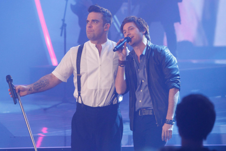Nick Howard Robbie WIlliams The Voice Of Germany