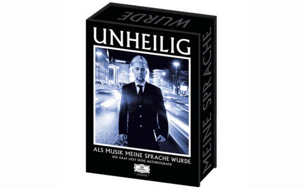 Unheilig, 18. Januar: Hörbuch der Unheilig Autobiografie plus Musik-CD erscheint