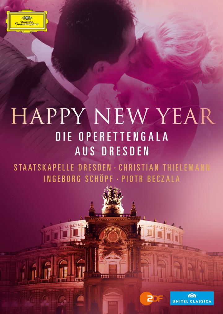 DVD und Blu-ray Happy New Year: Beczala/Thielemann/Schöpf