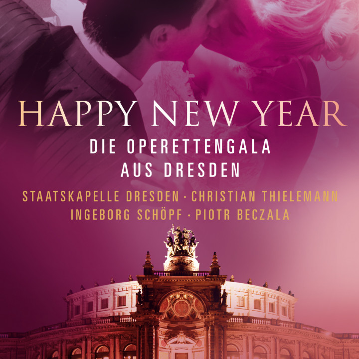 DVD und Blu-ray Happy New Year: Beczala/Thielemann/Schöpf