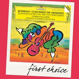 First Choice, Rodrigo: Concierto de Aranjuez; Fantasia para un gentilhombre / Villa-Lobos: Guitar Concerto, 00028947911180