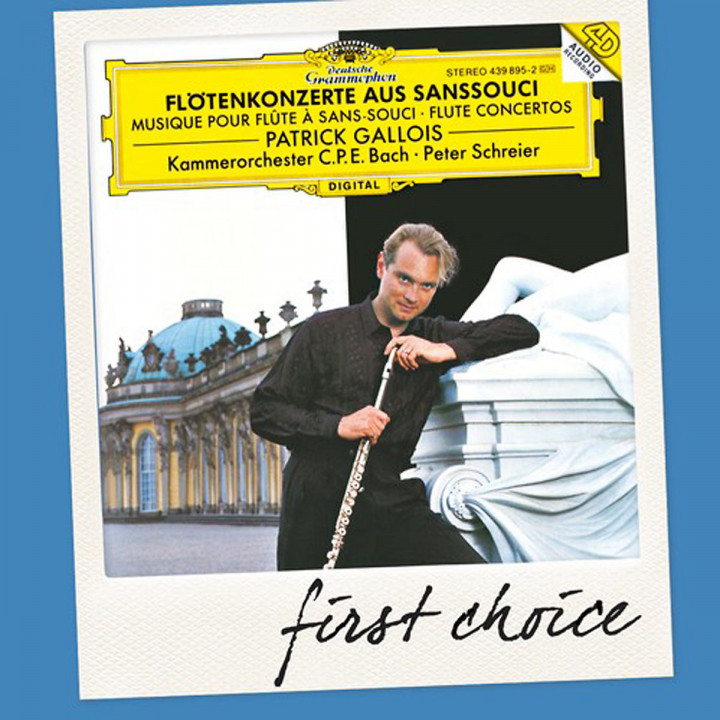 Flötenkonzerte aus Sanssouci (FC): Gallois/Schreier/Kcpeb
