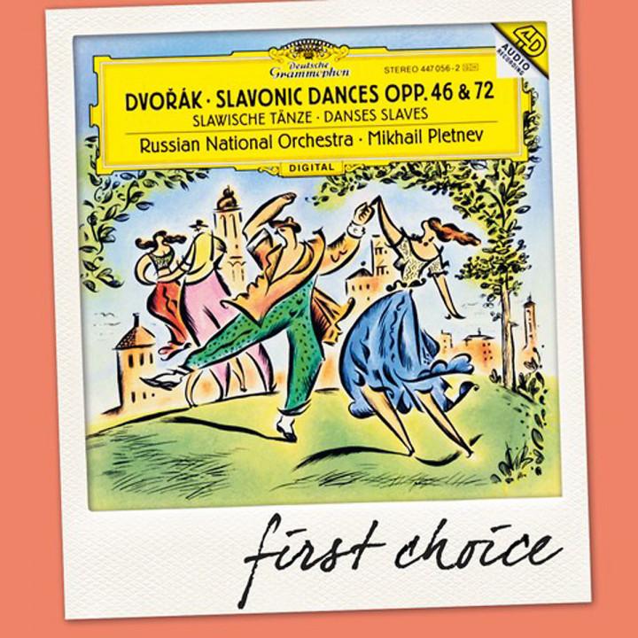 Slawische Tänze 1-16 Op.46+72 (FC): Pletnev,M./Rno